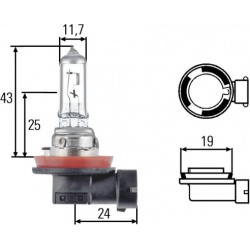 Lemputė H11