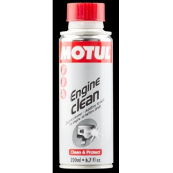 Priedas MOTUL ENGINE CLEAN MOTO 200ml