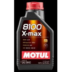Alyva MOTUL 8100 X-MAX 0W40 1L