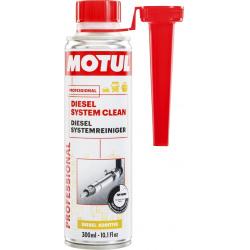 Priedas MOTUL DIESEL SYSTEM CLEAN AUTO 300ml