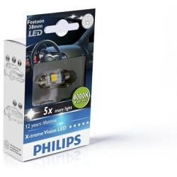 Lemputė LED T10,5x38 4000K Festoon X-tremeVision