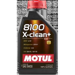 Alyva MOTUL 8100 X-CLEAN+ 5W30 1L