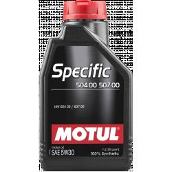 Alyva MOTUL SPECIFIC 504.00-507.00 5W30 1L