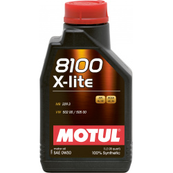 Alyva MOTUL 8100 X-LITE 0W30 1L negaminamas