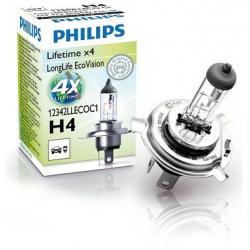 Lemputė H4 LongLife Eco Vision