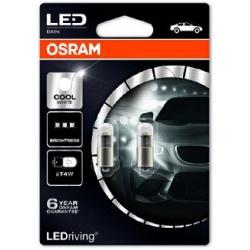 Lemputė LED T4W 6000K COOL WHITE
