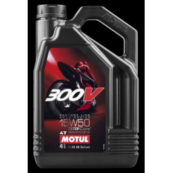 Alyva MOTUL 300V 15W50 FACTORY LINE 4T 4L