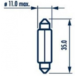 Lemputė C5W