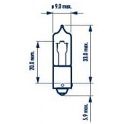 Lemputė H21W