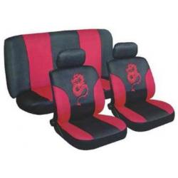 Užvalkalai sėdynėms (raudoni)