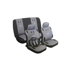 Užvalkalai sėdynėms (juoda/mėlyna)