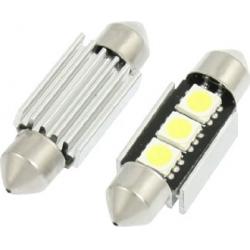 Lemputė LED T11x39 3SMD SV8.5