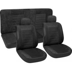 Užvalkalai sėdynėms (juodi)