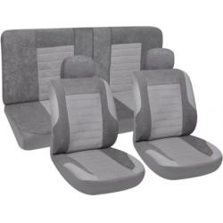 Užvalkalai sėdynėms (pilki)