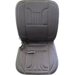 Užvalkalas sėdynei šildomas (juodas)