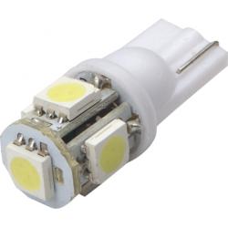 Lemputė T10 5LED SMD