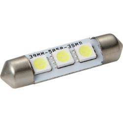 Lemputės 3LED T11x36 SMD