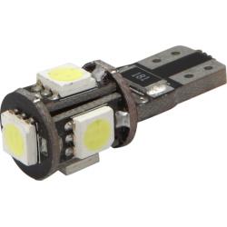 Lemputės 5LED T10 SMD