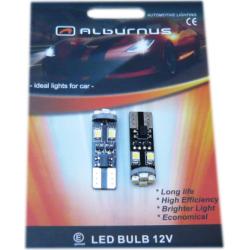 Lemputės LED T10 8SMD CANBUS