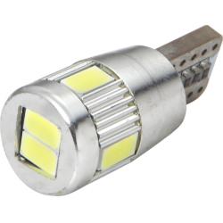 Lemputės T10 6SMD CANBUS