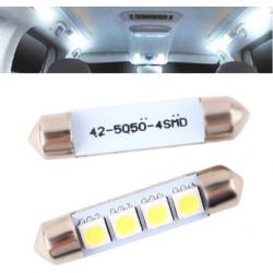 Lemputės 4LED T11x39 SMD