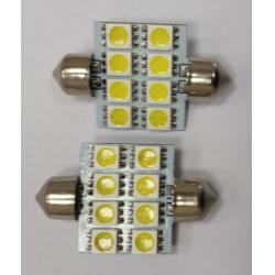 Lemputės 8SMDx36
