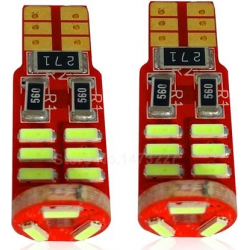 Lemputė T10 15 SMD