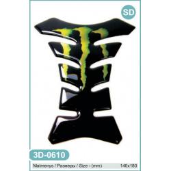 Iškilus lipdukas 3D-0610