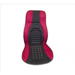 Masažinis sėdynės užtiesalas (juodas/pilkas)
