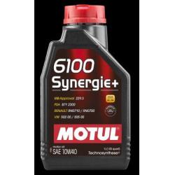 Alyva MOTUL 6100 SYNERGIE+ 10W40 1L