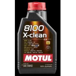 Alyva MOTUL 8100 X-CLEAN 5W40 1L