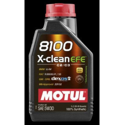 Alyva MOTUL 8100 X-clean EFE 5W30 1L