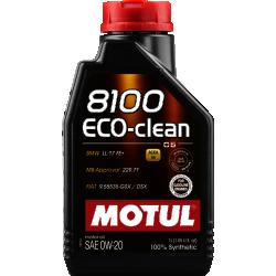 Alyva MOTUL 8100 ECO-CLEAN 0W20 1L