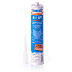UV atsparūs klijai 410 juodi