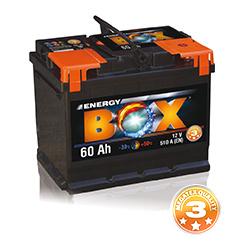 Akumuliatorius 60Ah 540A Energy Box