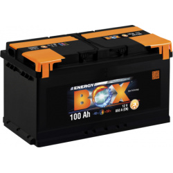Akumuliatorius 100Ah 850A Energy Box
