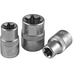 Galvutė 3/8 trumpa L=28mm E14 TORX tipo